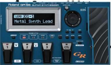 Roland GR-55 sound samples and patches - cgraham com